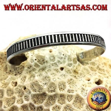 Starre Armband Handarbeit Silber