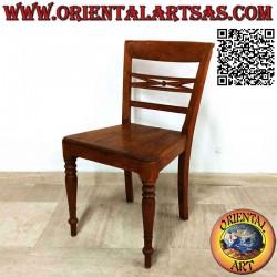 Stuhl im Raffles-Stil mit...