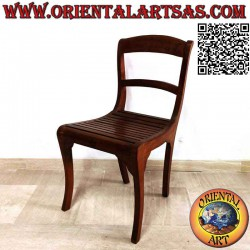 Curved chair with anatomic...