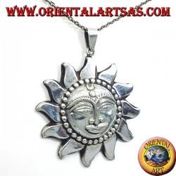 Anhänger größten Silber Nepali Sonne