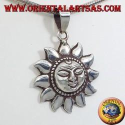 Ciondolo In Argento Sole Nepalese piccolo