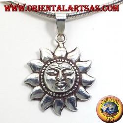 Silber Anhänger Sun Nepalese (klein)