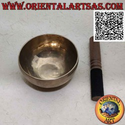 Campana tibetana hecha a...
