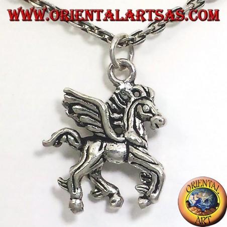 colgante de plata caballo alado dimensiones