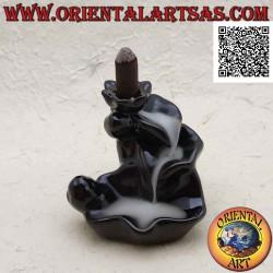 Cone shaped incense burner...