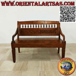 Antique bench with...