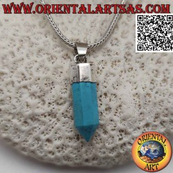 Silver pendant with a...