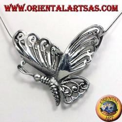 Schmetterling Silber Anhänger 925