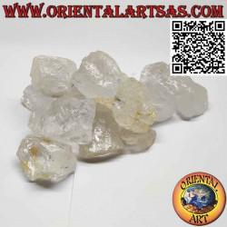 Quartz hyalin brut (cristal...
