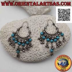 Silver earring, 20 mm...