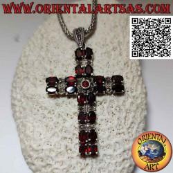 قلادة الصليب المسيحي الفضي...