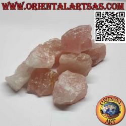 Quartz rose brut (70 g → 90 g)
