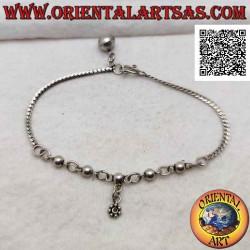 Bracciale in argento 925‰,...