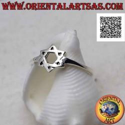 Серебряное кольцо со...