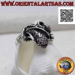 خاتم من الفضة على شكل ثعبان...