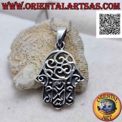Hand of Fatima silver...