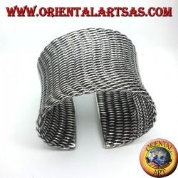 bracelet off to slave braided silver