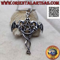 Pentacle silver pendant...