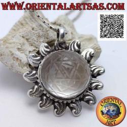Ciondolo in argento a forma...