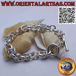 Bracelet chaîne en argent...