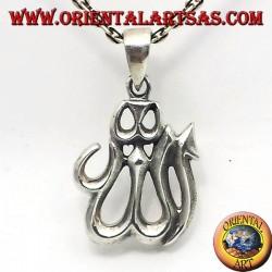 Allah-Anhänger aus Silber