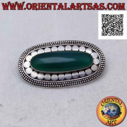 Silver brooch with...
