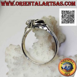 Silver ring of the erotic...