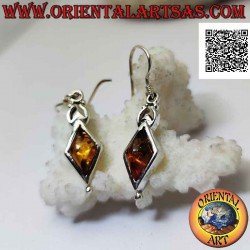 Silver leverback earrings...