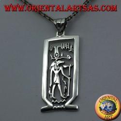 Anubis pendant in silver