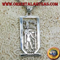 Anubis colgante en plata