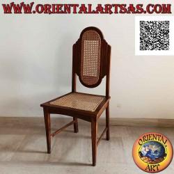 Chaise de style colonial à...
