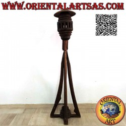 Floor lamp with four joined...