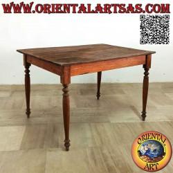 Rectangular antique table...