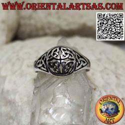 Silver ring, the Duleek...