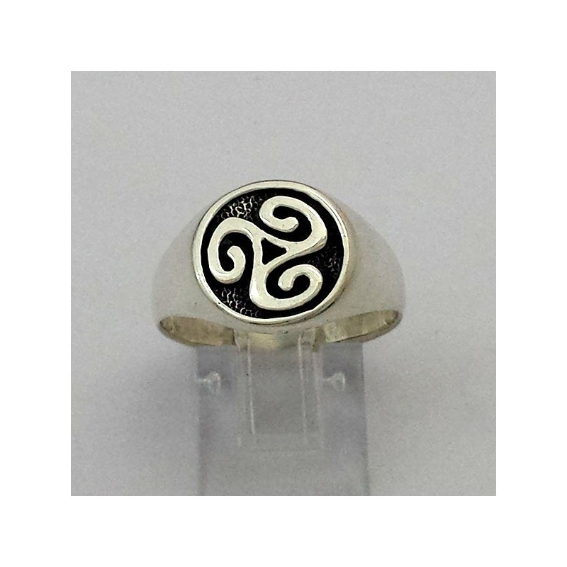 Triskell Ring Silber