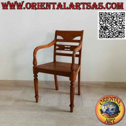 Raffles style armchair with...
