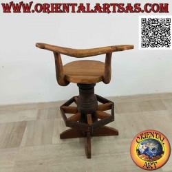Swivel stool with backrest...