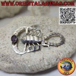 Spilla in argento a forma...