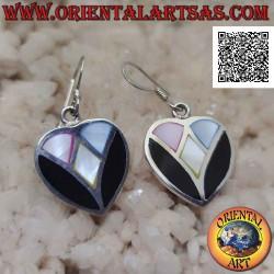 Heart-shaped silver hook...
