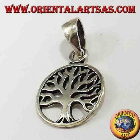 silver pendant, small Tree of Life