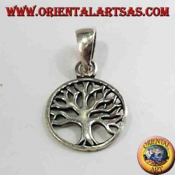 Silber Anhänger, kleiner Baum des Lebens
