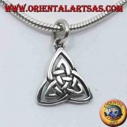 Ciondolo triscele in argento