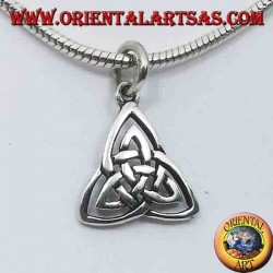 Triskell pendant in silver