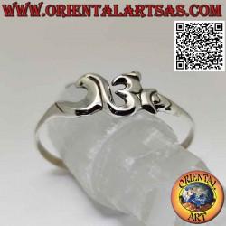Glattes 925 ‰ silbernes...