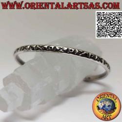Rigid bracelet in 925 ‰...