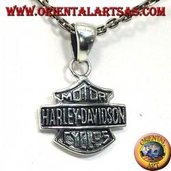 colgante de Harley Davidson en plata