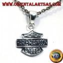 ciondolo Harley Davidson in argento