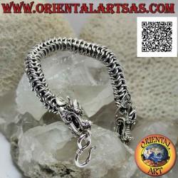 925 Bracelet tubulaire en...