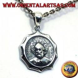 ciondolo San Nicola in argento