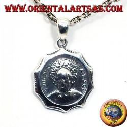 San Nicola pendant in silver